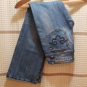 Express Jeans - {2 for 30} ReRock for Express boot jeans sz 4 reg